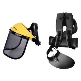 Kit de protection avec visière et harnais GARDEO PRO