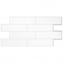 Carrelage adhésif Oslo White 57,3 x 27,6 cm