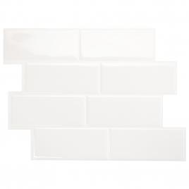 Carrelage adhésif Metro Blanco 29,3 x 21,3 cm