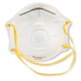 Masque anti-poussière Yuma avec valve FFP1 2 pièces