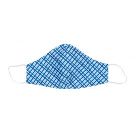 Masque en tissu Vichy 3 pièces