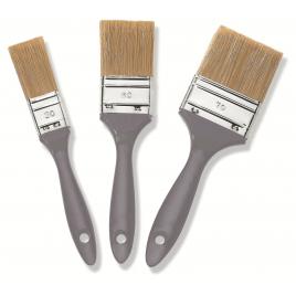 set de pinceau plat pour lasure 3 pièces COLOR EXPERT