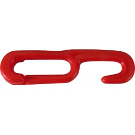 Crochet pour chaine de signalisation 2 pièces