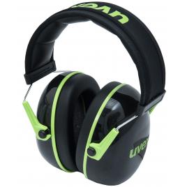 Casque anti-bruit K1 noir et vert 28 dB