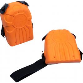 Genouillère ergonomique orange 2 pièces