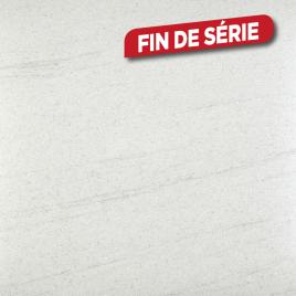 Plan de travail 305 x 60 x 4 cm blanc volcano