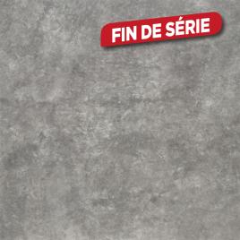 Plan de travail 305 x 60 x 4 cm Copperfield anthracite