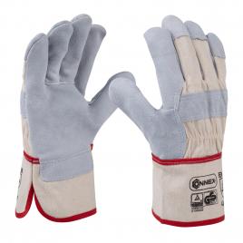 Paire de gants en cuir universels taille 10