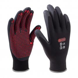 Paire de gants en polyamide anti-dérapants taille 9