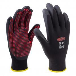 Paire de gants en polyamide anti-dérapants taille 10