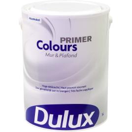 Primer Colours pour mur et plafond blanc 5 L DULUX