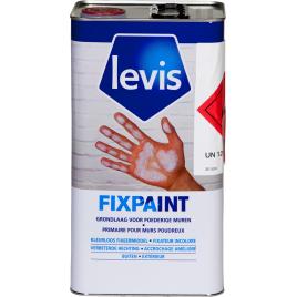 Primer fixateur pour support extérieur poudreux incolore 5 L LEVIS