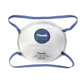 Masque de protection pour poussière fine FFP2, avec valve