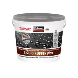 Produit d'étanchéité Liquid Rubber pour toiture gris 5 L RUBSON
