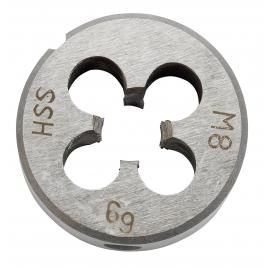Filière en acier Ø 25 mm M 10 KWB