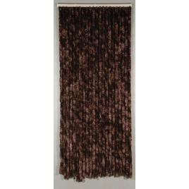 Porte provençale Castor 90 x 205 cm brun CONFORTEX
