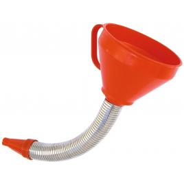 Entonnoir pour carburant avec bec flexible PRESSOL