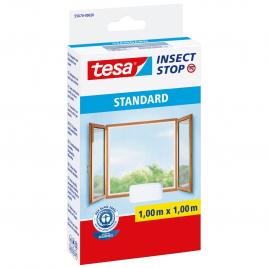 Moustiquaire auto-agrippant standard pour fenêtre Insect Stop 1,3 x 1,5 m blanc TESA