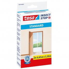 Moustiquaire auto-agrippant pour portes Insect Stop blanc 2 pièces TESA