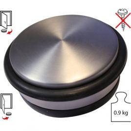 Arrêt de porte à poser en inox Ø 110 mm