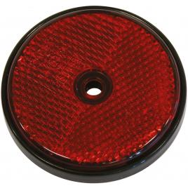 Réflecteur rond rouge 2 pièces CARPOINT