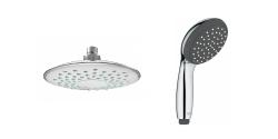 Tête de douche et douchette