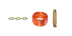 Chaine, câble, corde et accessoire