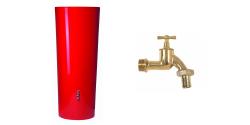 Récupérateur à eau de pluie et accessoire