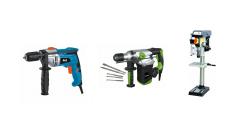 Perceuse, visseuse, perforateur et marteau pneumatique