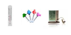 Thermomètre et station météo portable