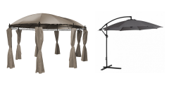 Parasol, tonnelle et tente solaire