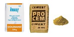 Ciment, béton, sable, ...