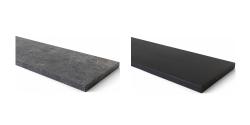 Seuil et tablette en pierre de taille