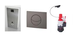 Accessoire réservoir WC, bâti-chasse, broyeur