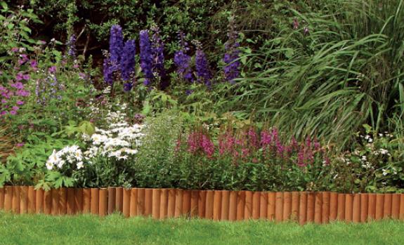 Petites bordures pour joli jardin