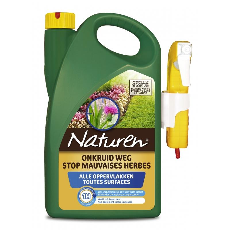 Herbicide bio contre les mauvaises herbes Naturen