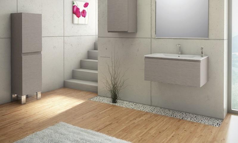 Parquet salle de bain chataignier for Pose parquet salle de bain