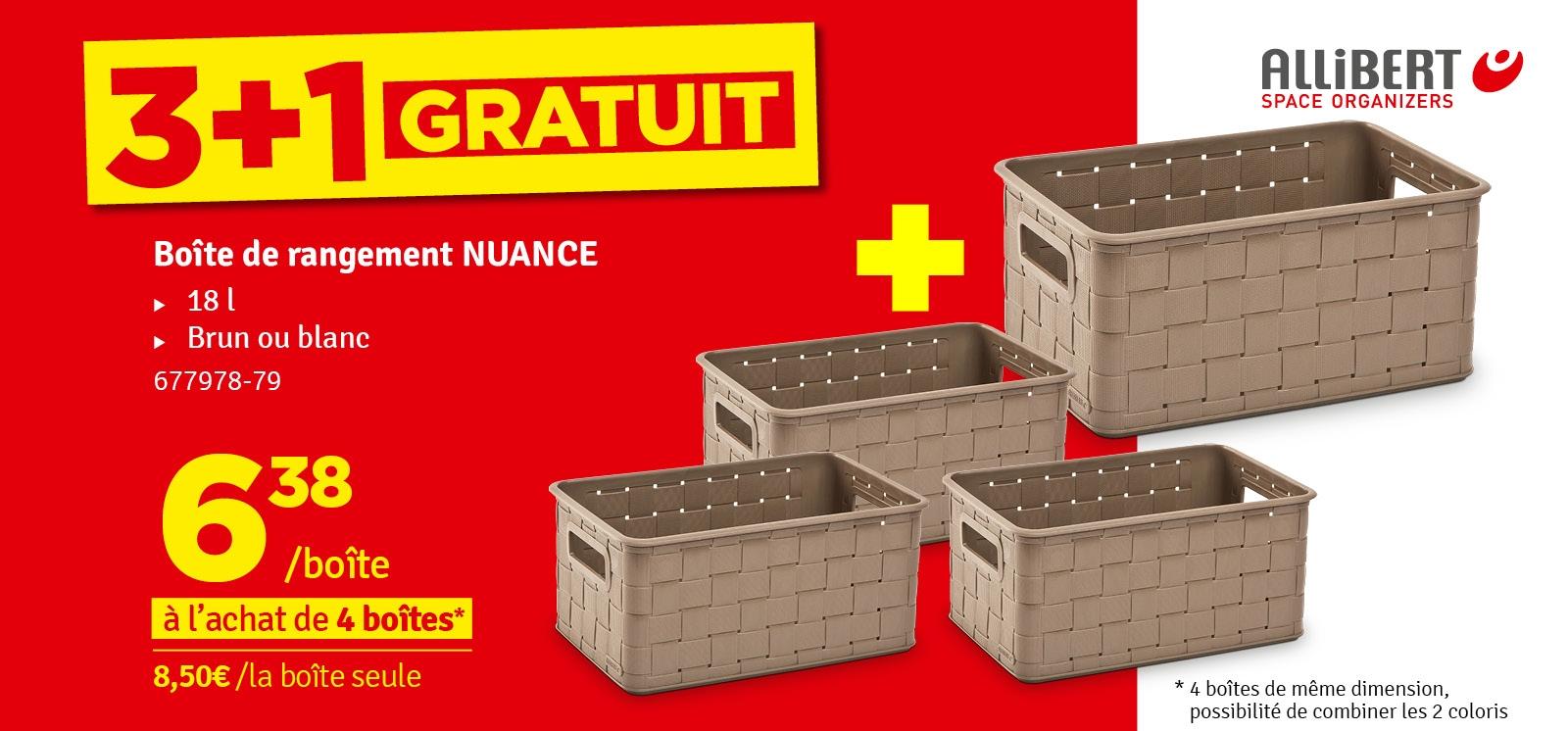 Promo - Box de rangement Nuance