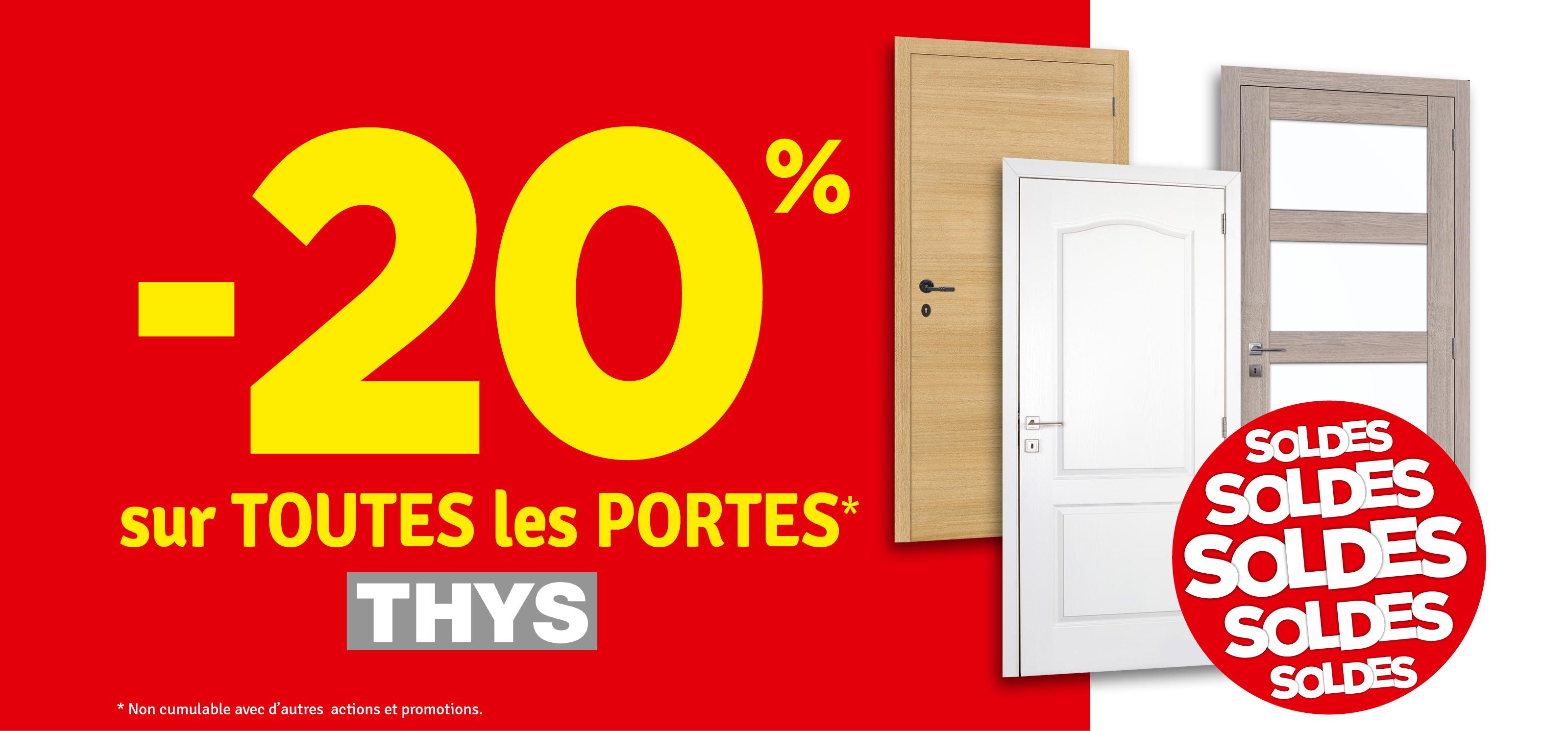 Promo - -20 % sur les portes THYS