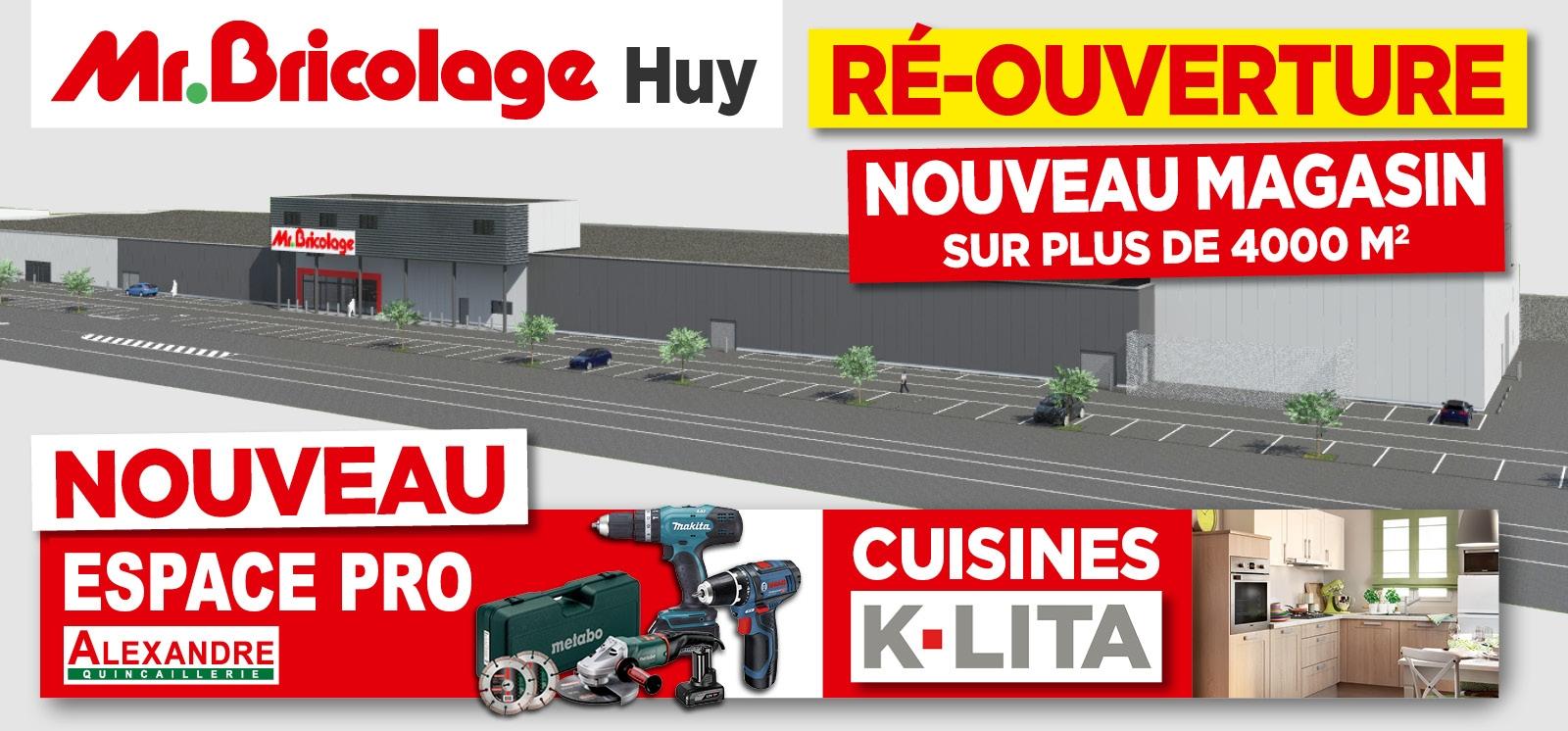 Promo - Réouverture du magasin de Huy