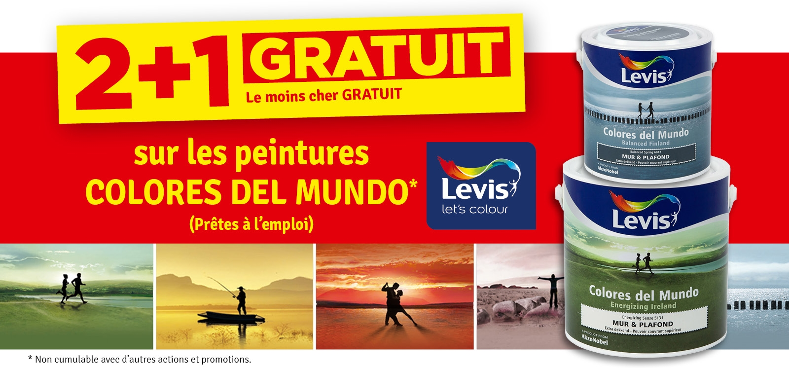 Promo - 2 + 1 Colores del Mundo LEVIS
