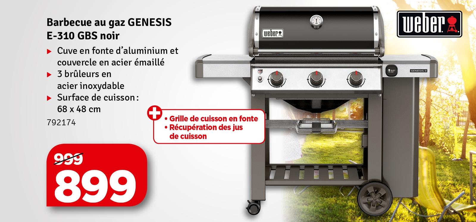 Promo - Barbecue au gaz Genesis II WEBER